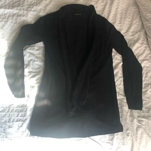 Zara Knit black open face cardigan